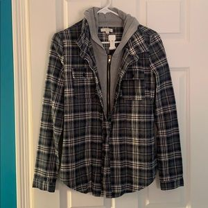 Jackets & Blazers - Two Layered Flannel Jacket